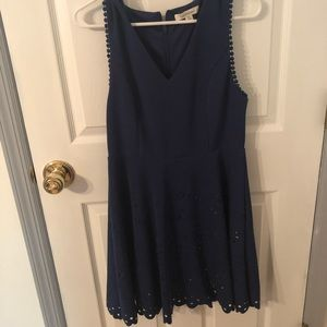 Francesca's Blue Dress